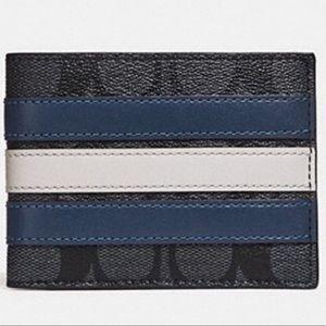 Coach Slim Varsity Wallet